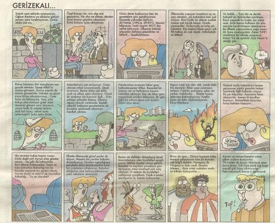 gerizekali karikatur yigit ozgur