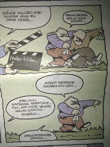 halay-kulubu Karikatür