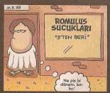 romulus sucuklari karikatür