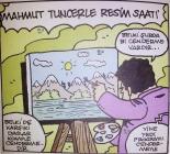 mahmut tuncer le resim saati karikatürü