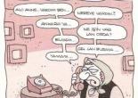 varinca arayan evlat yigit ozgur karikatürü