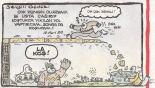 koştukça yıkılan yol karikatürü